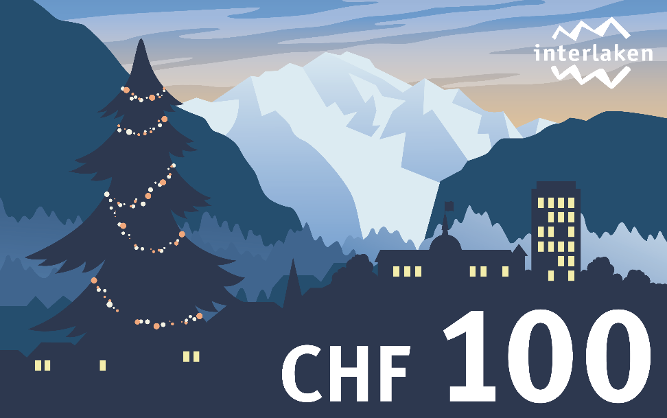 Spend 2 nights at the Hotel du Nord in Interlaken and receive a gift voucher worth CHF 100!